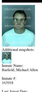 Barfield, Michael Allen | Fort Myers Arrest | Lee County, FL